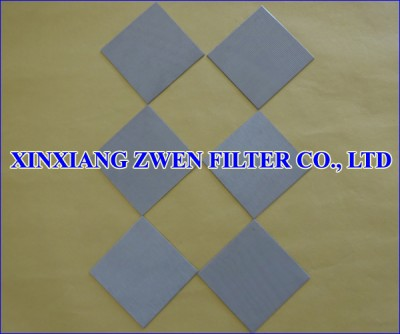 Sintered Wire Mesh Sheet