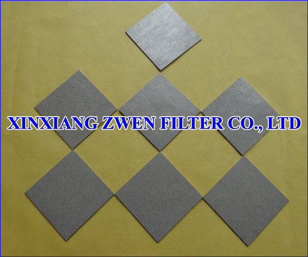 Titanium Filter Sheet