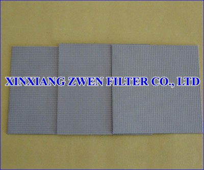 Sintered Wire Mesh Filter Sheet