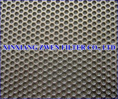 Perforated Sintered Mesh Filter Sheet
