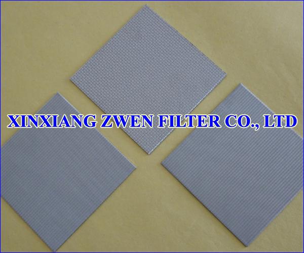 Sintered Wire Mesh Sheet