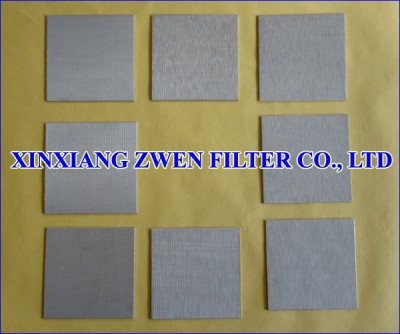 SS Sintered Filter Sheet