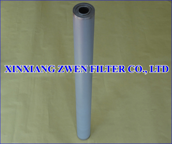 Sintered Porous Filter Cartridge