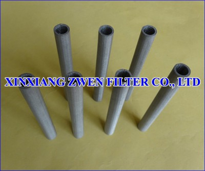 Sintered Metal Mesh Filter Tube
