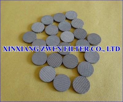 Metal Circular Filter Disc
