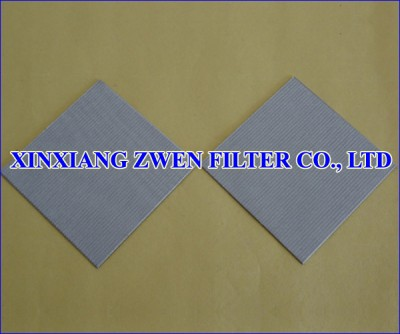 Sintered Metal Mesh Filter Sheet