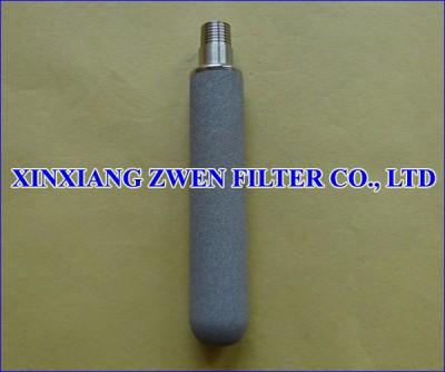 Titanium Porous Filter Cartridge
