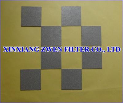 Titanium Porous Filter Plate