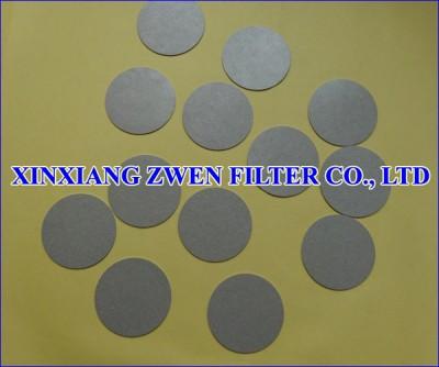 Sintered Porous Disc