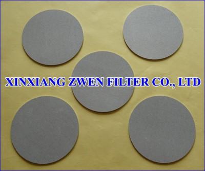 Sintered Powder Disc