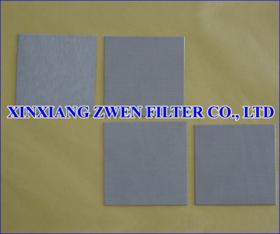 Sintered Wire Mesh Filter Plate