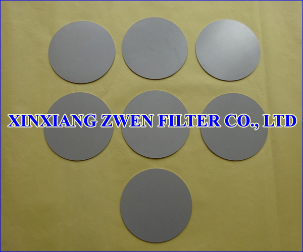 Sintered Powder Disc