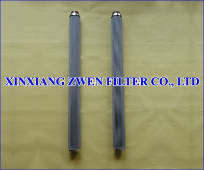Pleated Candle Filter Element