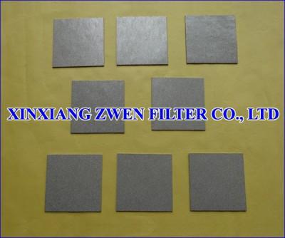 Sintered Porous Filter Sheet
