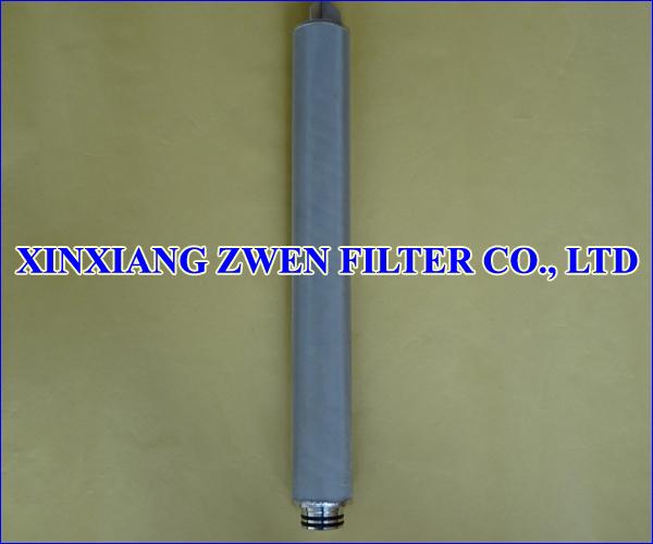 Sintered Porous Filter Cartridge