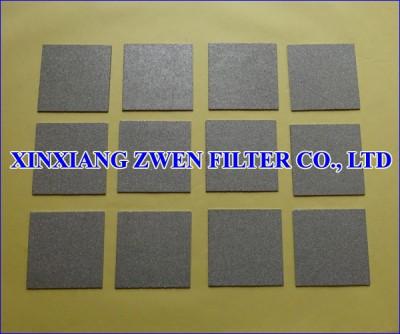 Titanium Filter Plate