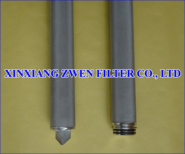 Cylindrical Sintered Filter Element