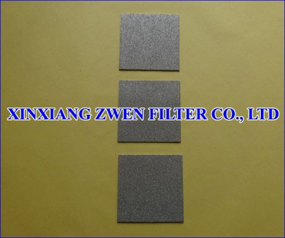 Titanium Powder Filter Plate
