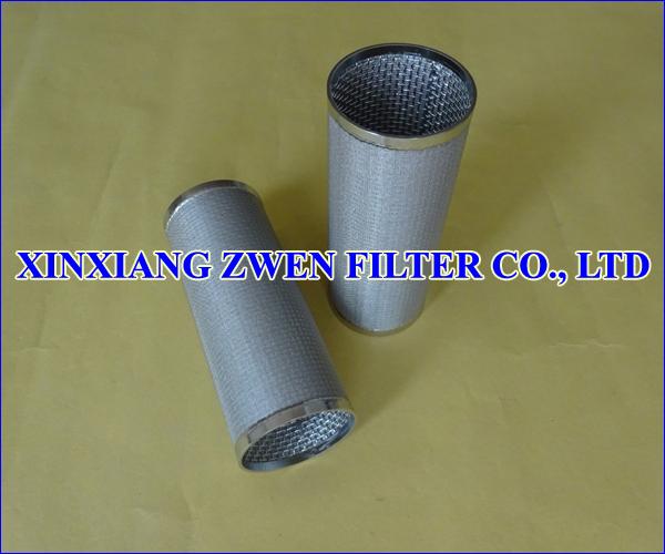 Multilayer Sintered Filter Element