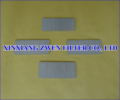 Metal Porous Filter Plate