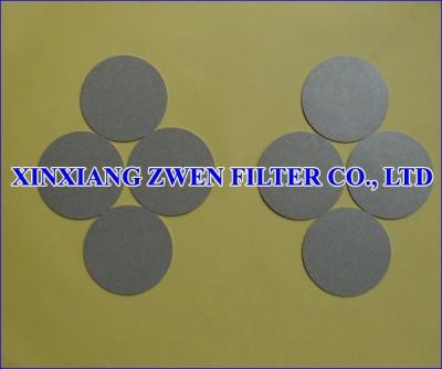 Titanium Filter Disc