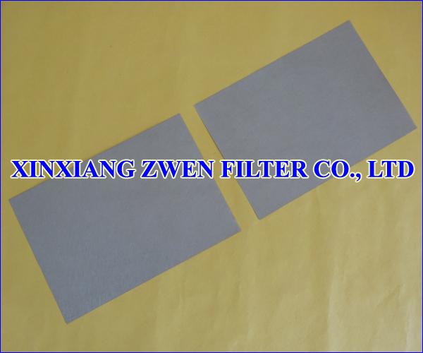 Sintered Fiber Filter Media