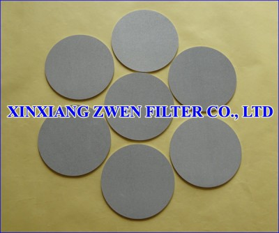 Sintered Powder Filter Disc