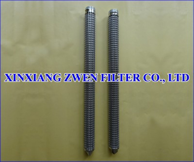 Pleated Stainless Steel Filter Element