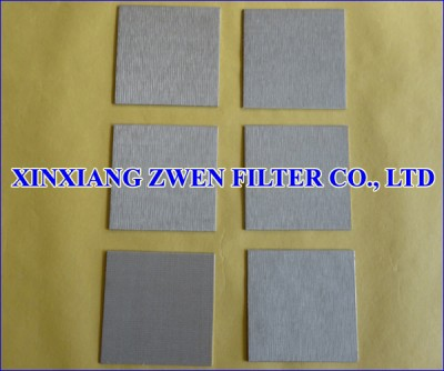 Sintered Wire Cloth Filter Plate