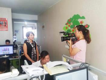 新乡市电视台专门来我司采访王总