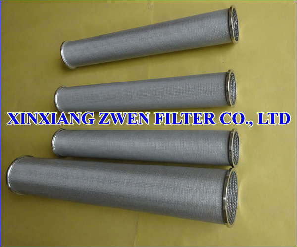 Sintered Wire Cloth Filter Cartridge