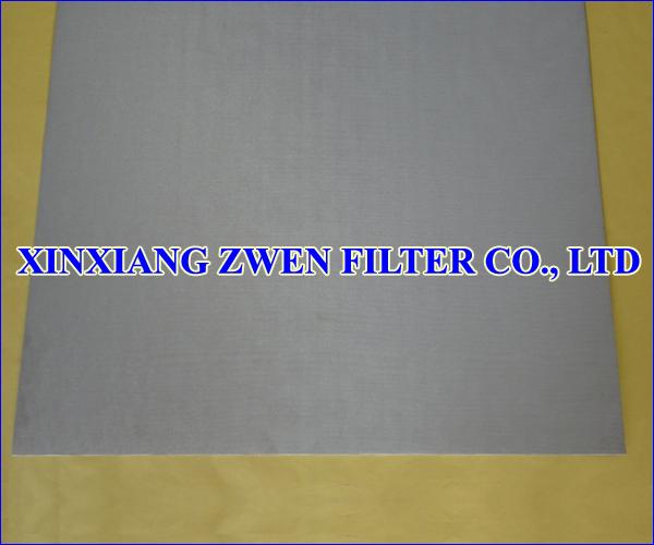 Sintered Wire Cloth Sheet