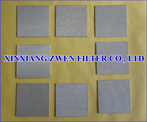 Five Layer Sintered Wire Cloth