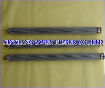 Pleated Fiber Felt Filter Cartridge