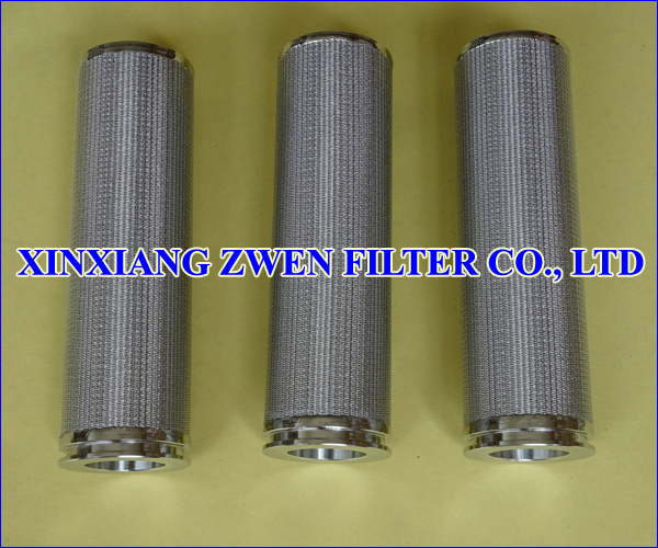 Sintered Wire Cloth Filter Element