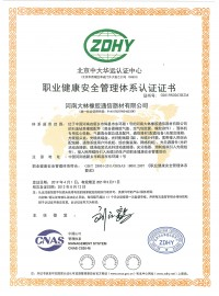 大林-职业健康证书中文