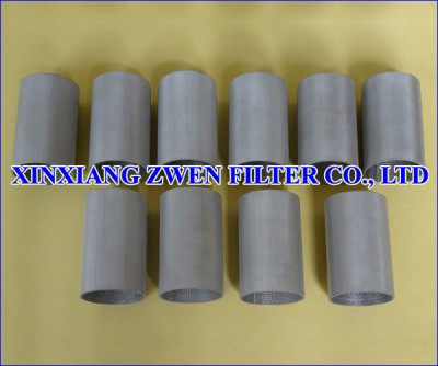 Sintered Wire Cloth Filter Tube