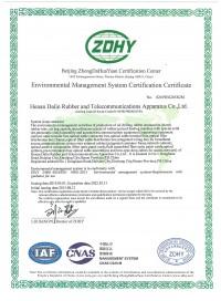 大林-环境管理体系证书英文