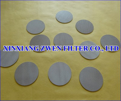 Sintered Wire Cloth Disc