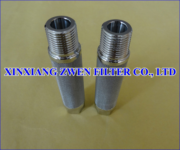 Sintered Wire Mesh Filter Rod