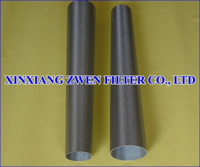 Sintered Wire Cloth Filter Pipe