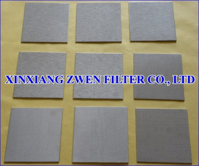 Sintered Wire Cloth Filter Sheet