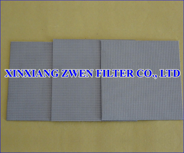 Sintered Wire Cloth Laminate