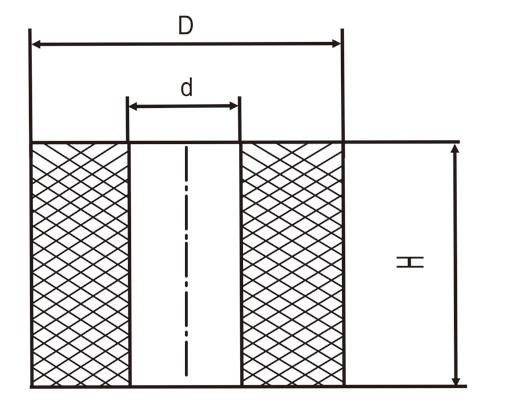 橡胶弹簧结构图