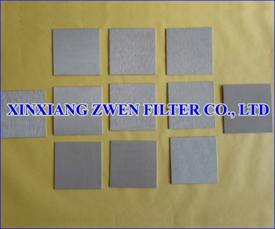 Multilayer Sintered Wire Cloth