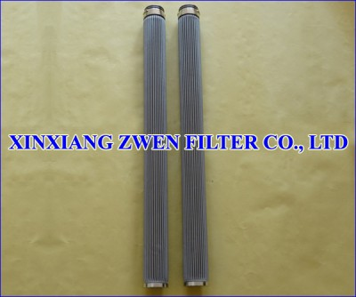 Pleated Wire Mesh Filter Element