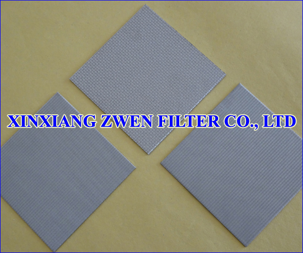 Sintered Wire Cloth Plate