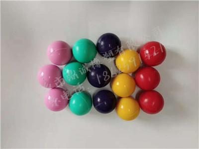 彩色硅胶球