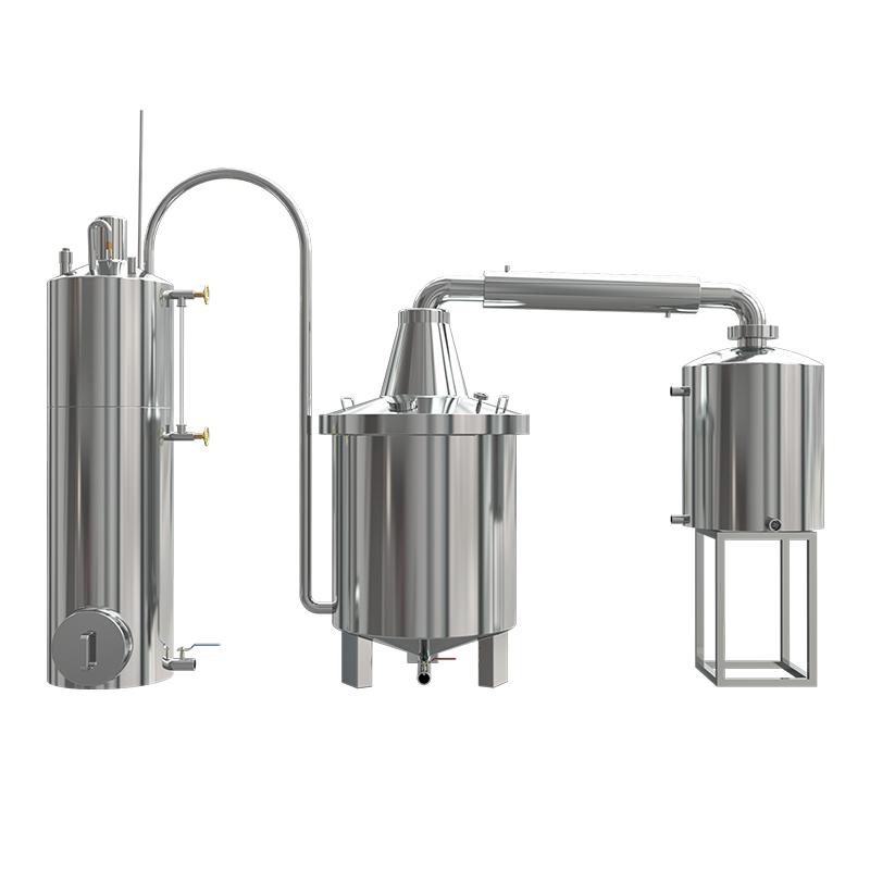 锅炉型蒸汽式酿酒设备