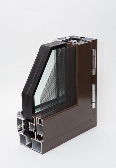 HL114防蚊防护一体窗